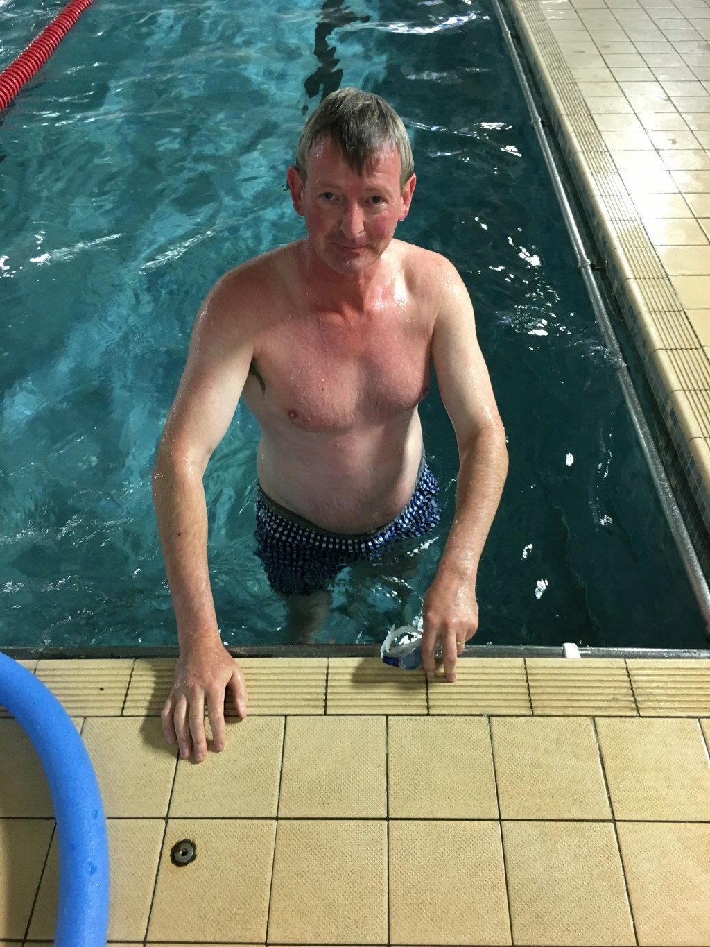 Image for: DASLS President Swims for Air Ambulance